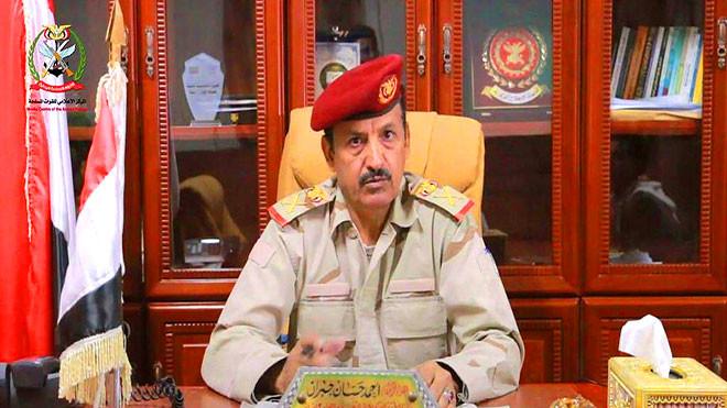 هادي يعين قائدا جديدا للمنطقة العسكرية السابعة
