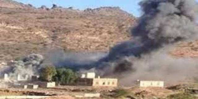 مليشيا الحوثي تقصف عدة مناطق في أبين