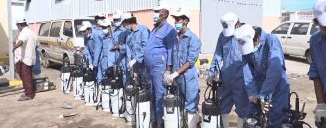 تدشين حملة طارئة للرش الضبابي لمكافحة حمى الضنك في عدن