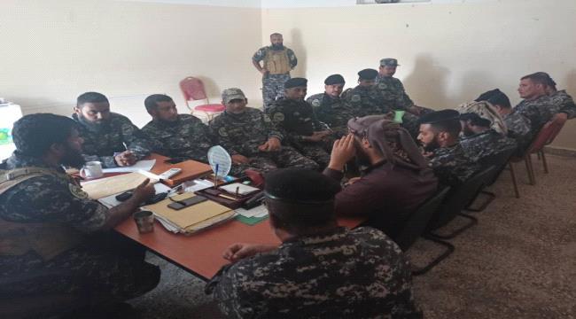 بن عفيف يترأس اجتماعا لقيادة قوات حماية المنشآت الحكومية