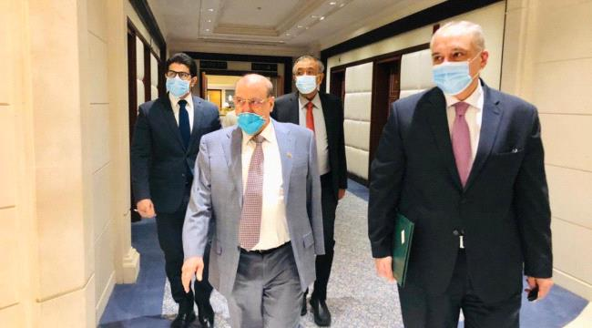 ظهور رسمي لرئيس البرلمان اليمني بعد أنباء إصابته بفيروس كورونا
