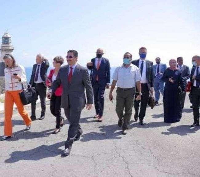 وزير الخارجية يصل عدن