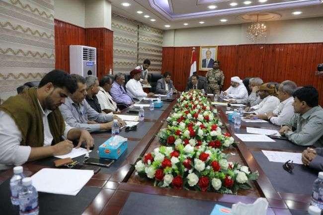 اجتماع بالمهرة يناقش تنفيذ مشروع محطة الكهرباء الجديدة بقوة 40 ميجا وات