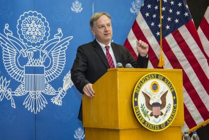 السفير الأمريكي يشدد على أهمية التصدي للأطماع الإيرانية في اليمن